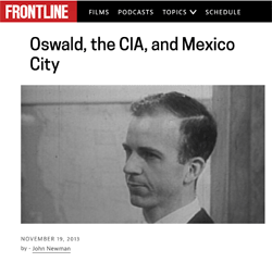 John Newman: Oswald, the CIA and Mexico City