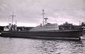 The Tejana III, a yacht used for CIA operations