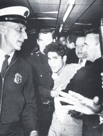 Sirhan Sirhan in custody