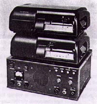 Model AT2C Dictaphone Belt Recorder like the one used by DPD to record channel one radio traffic