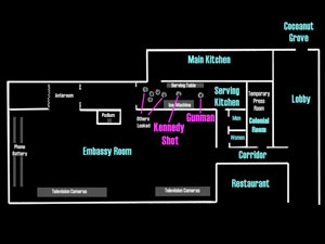 Layout of pantry and surrounding area
