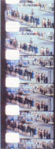 Figure 8. Note: no first-frame over-exposure in this Zapruder film transition