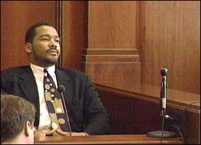 Dexter King at the 1999 civil trial