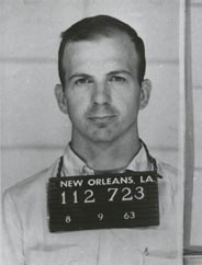 Photograph of Lee Harvey Oswald from August 1963, when he was arrested in New Orleans following a 'scuffle' with Carlos Bringuier.